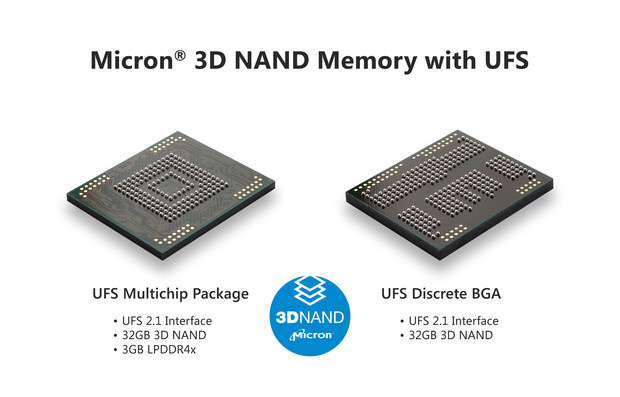 Micron 3D mobile NAND