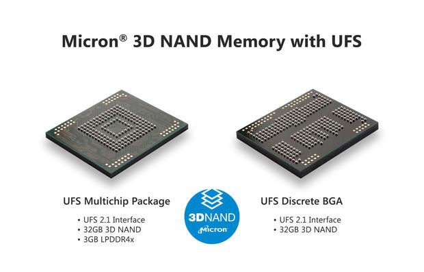 Micron 3D mobile NAND
