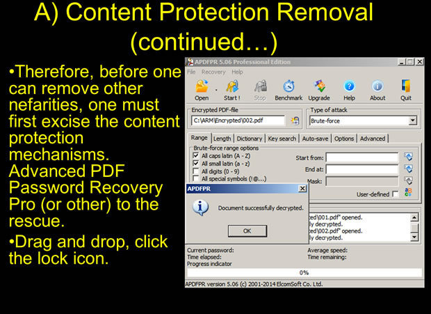 Content protection removal Jumping Paywalls