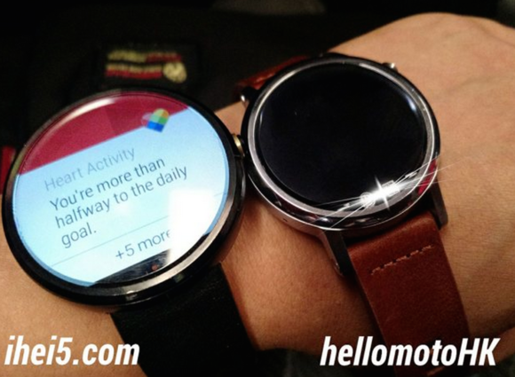 moto 360 watches leak