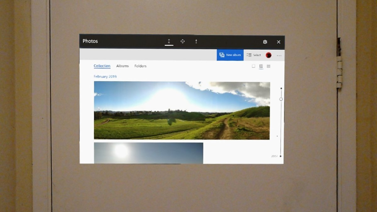 Microsoft hololens field of view fov