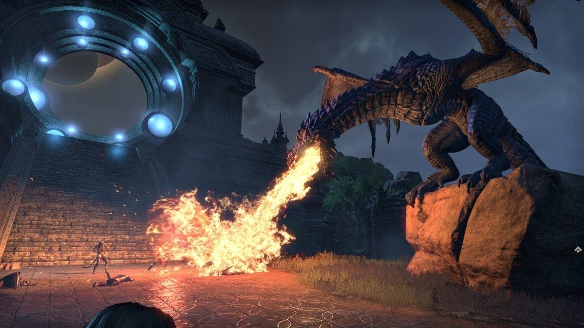 elsweyr dragon