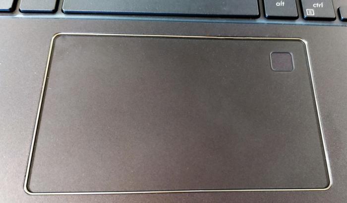 Asus NovaGo trackpad