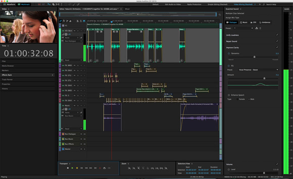 adobe audition cc 2015.2 ui with essential sound