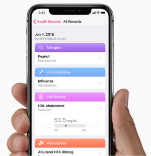 Apple Health Record