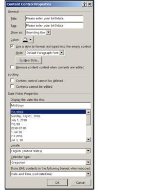04 date picker content control properties
