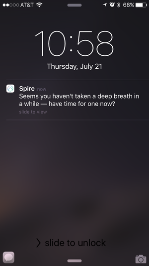 spire notification