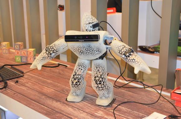 RealSense robot