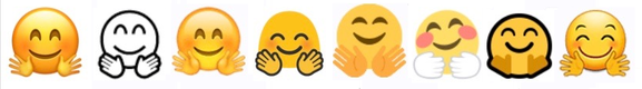 emoji ios10 hugging hands