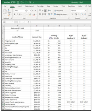 01 create populate the spreadsheet then enter formulas