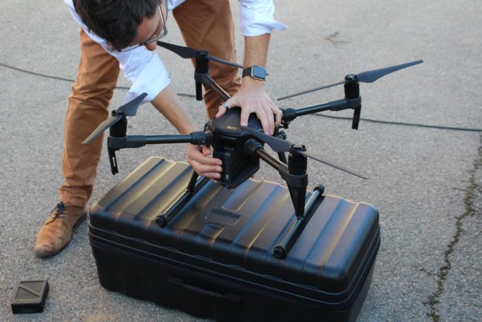dji m200 series drone dual battery