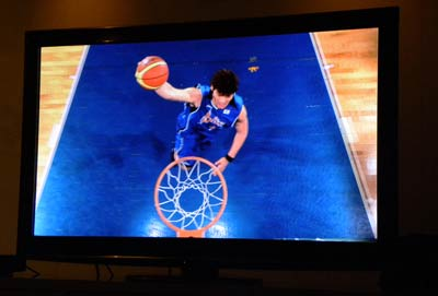Panasonic 3D sports content