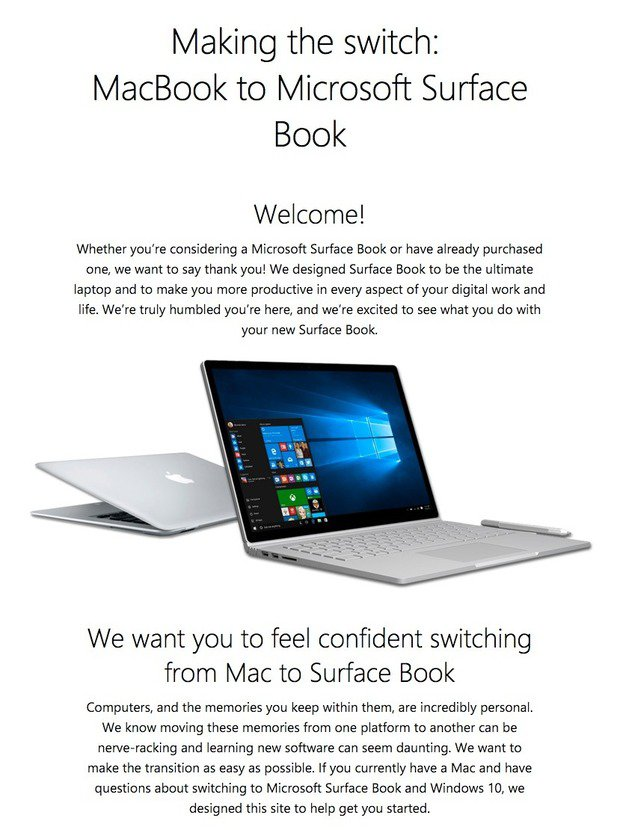 macbook to surface book