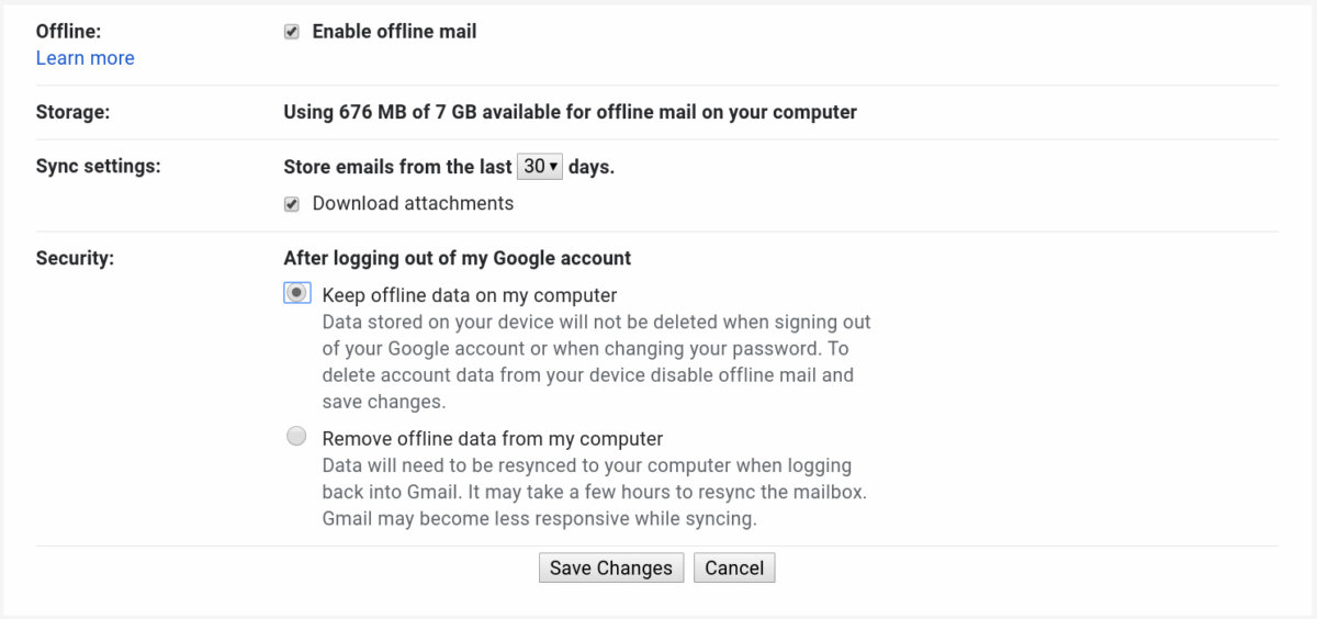 01 chromebook offline gmail