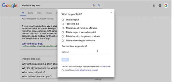 google snippet image