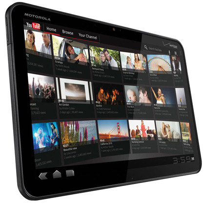 Motorola Xoom vs. iPad 2