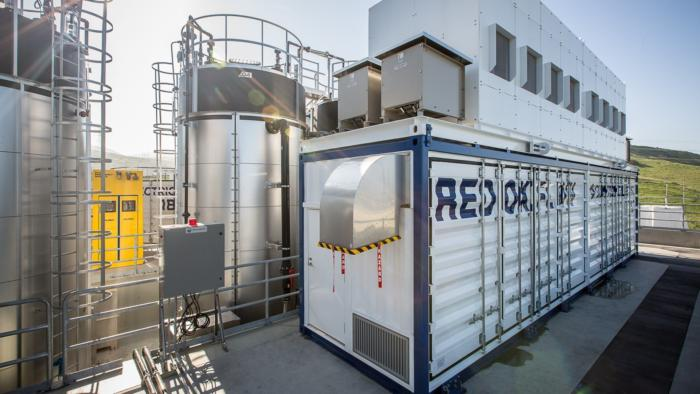 SDG&E vanadium redox flow battery