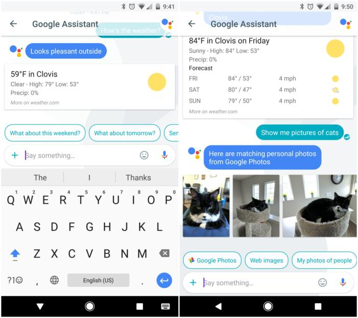 allo google assistant
