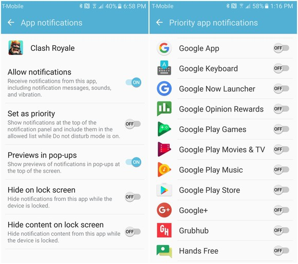 android app notifications