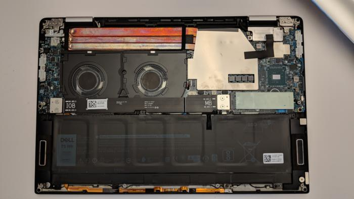 xps 15 2 in 1 inside