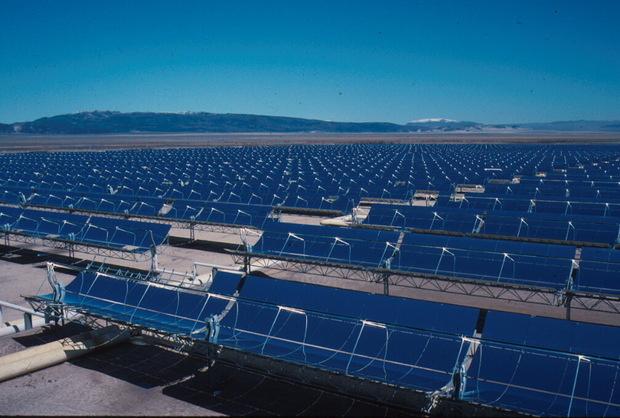 solar plant in San Bernardino
