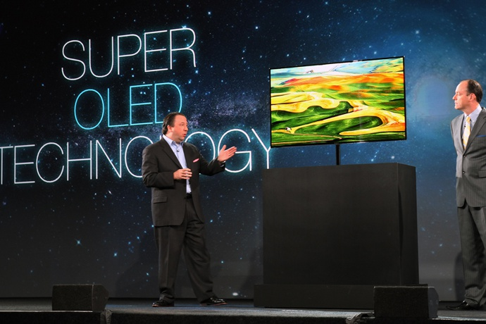 Samsung 55in Super OLED TV