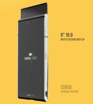 Sirin Labs finney smartphone