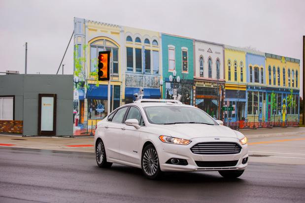autonomous fusion mcity Ford valodyne LiDAR