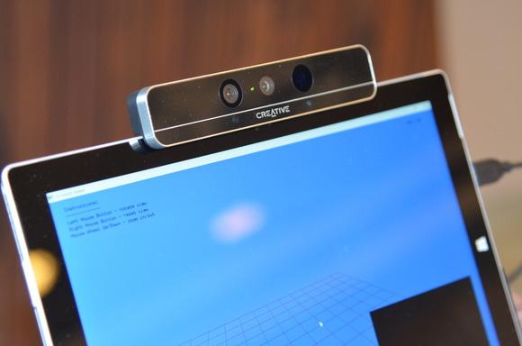 RealSense laptop