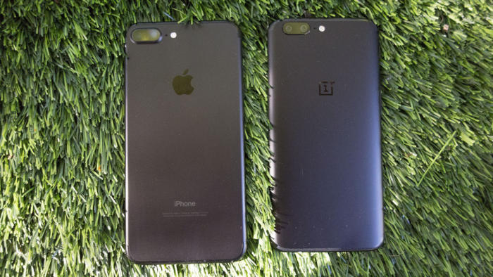 oneplus5 iphone comparison