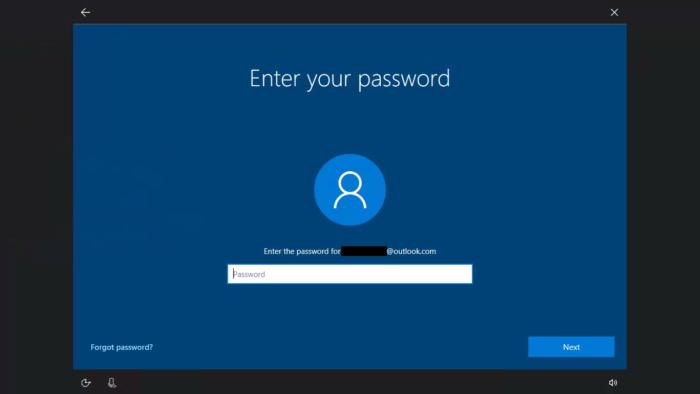 Reset password windows 10 fall creators 2