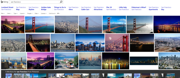 bing image search san francisco