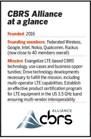 cbrs alliance glance