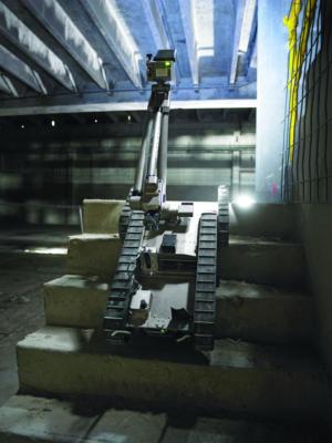 endeavor robotics packbot stairclimb