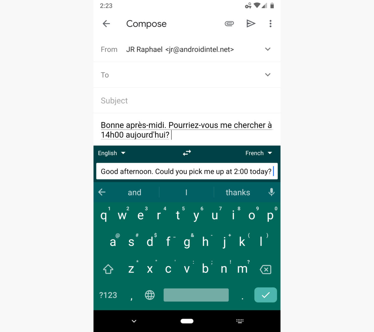 android keyboard apps gboard translate