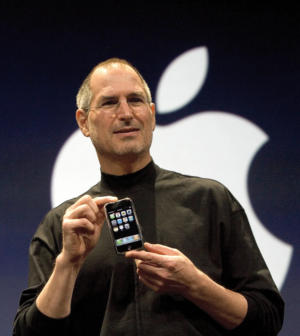 steve jobs iphone launch