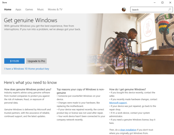 windowsstoregetgenuine
