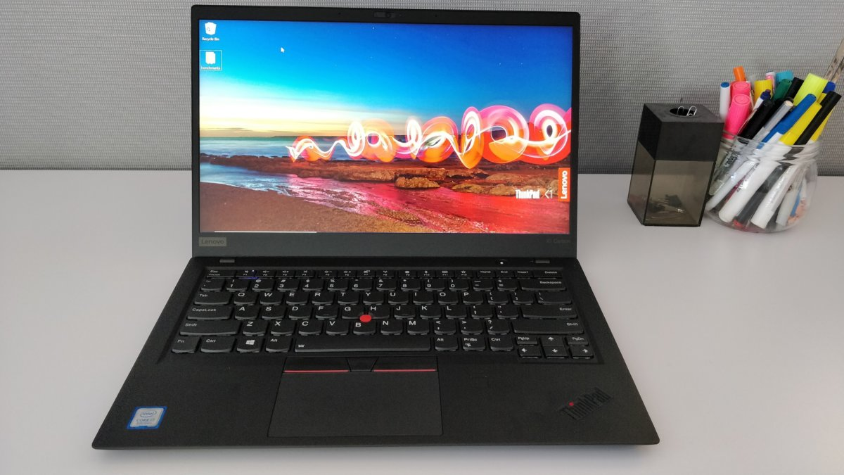 Lenovo ThinkPad X1 Carbon 6th gen front keyboard