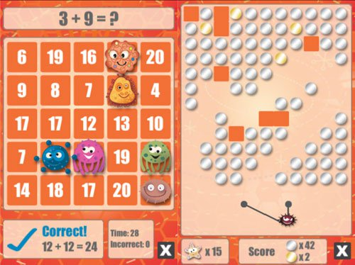 Math Bingo learning app games