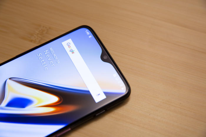 oneplus 6t notch