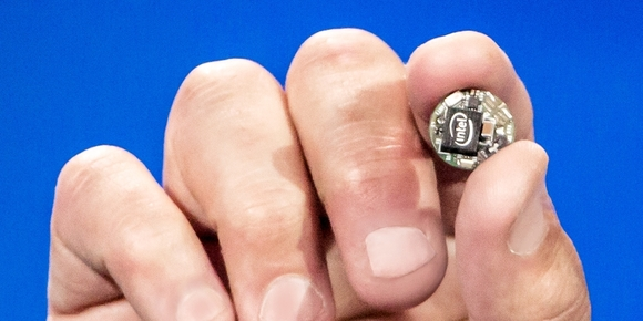 Intel's button-sized Curie wearable computer