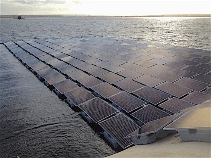 Thames Queen Elizabeth II reservoir solar array