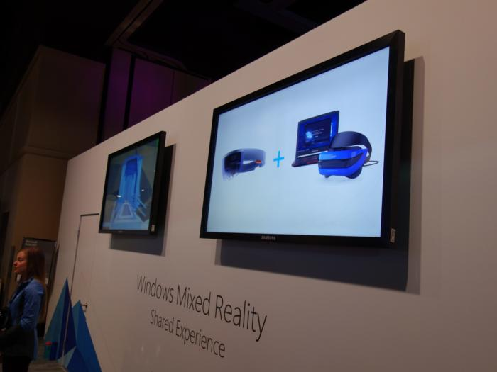 acer mixed reality demo with hololens