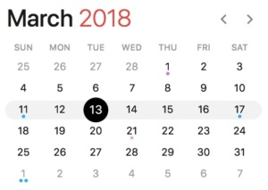 march 2018