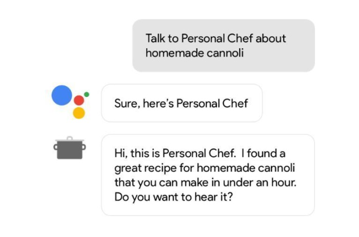 google personal chef