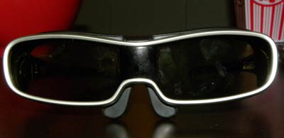 Panasonic 3D-capable Infra-red glasses