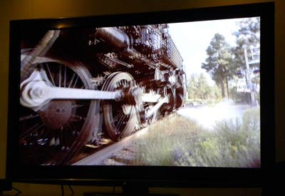 Panasonic 3D train