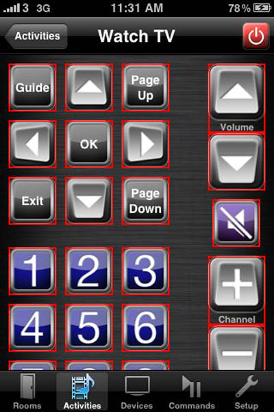 RedEye iPhone app