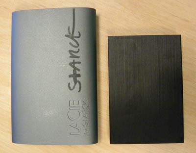 LaCie Rikiki portable hard drive