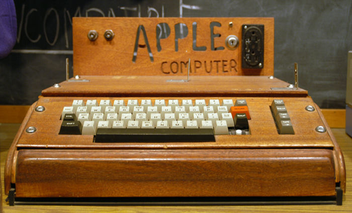 Apple I computer - credit Wikipedia